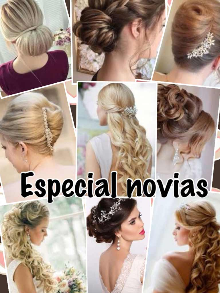 Gina's Hair and Beauty Salón peinados para novias 01
